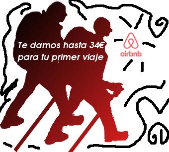 mochileros y Airbnb